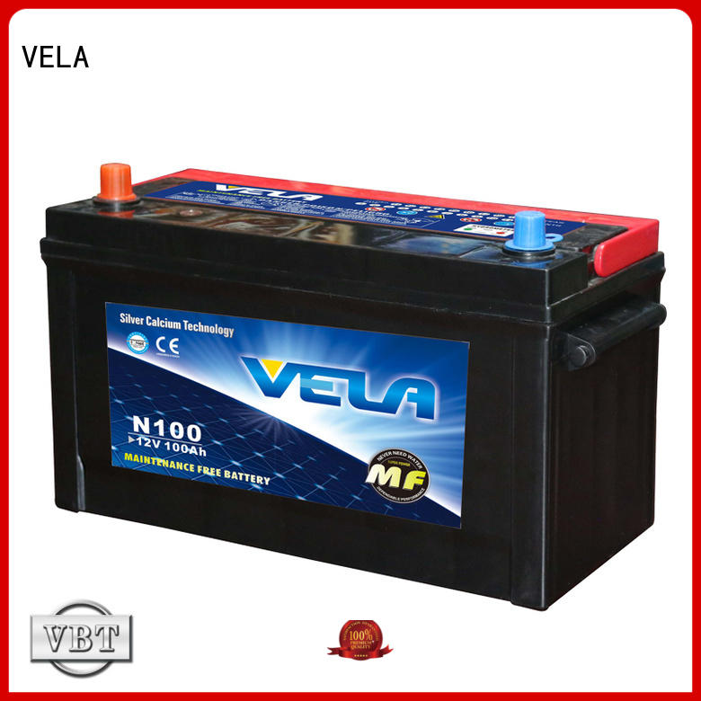 VELA reliable car battery maintenance needed for automobile