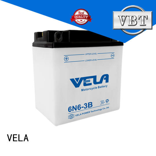 VELA dry cell battery best for motorcycle industry