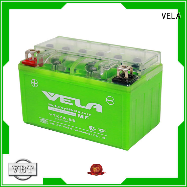 VELA environment friendly 12v gel battery motorbikes