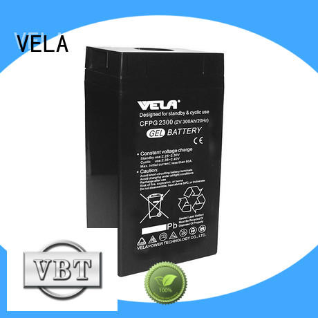 VELA industrial battery manufacturers widely used for telecommunications system