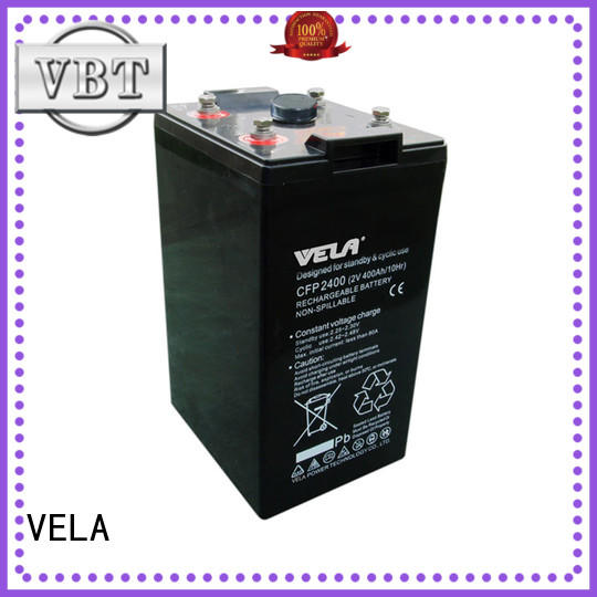 VELA reliable tow truck battery many industries