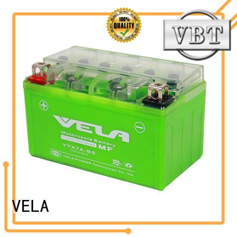 VELA environment friendly motorbike batteries uk autocycle