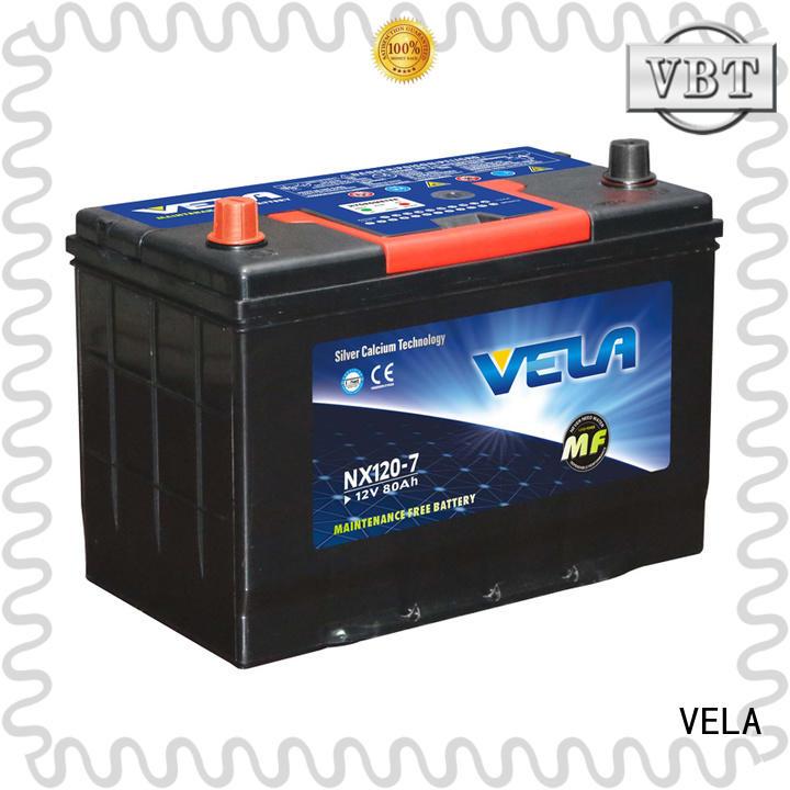 VELA vehicle battery excellent for car industry