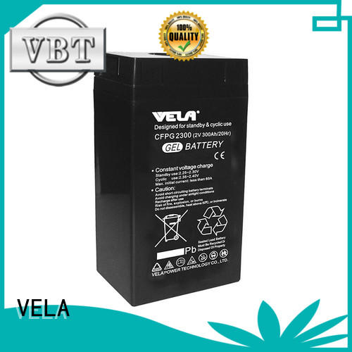 VELA industrial battery manufacturers great for solar system