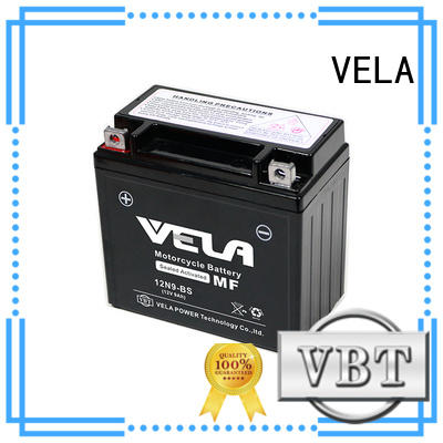 VELA mf battery great for motorcycle industry