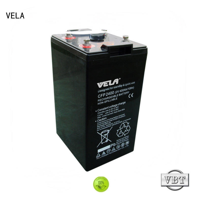 VELA industrial battery excellent for power plant