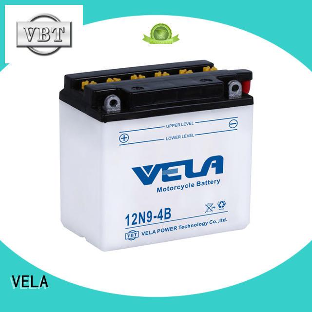 VELA safer transportation conventional battery excellent for motorbikes