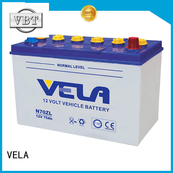 VELA good quality automotive battery manufacturers ideal for car