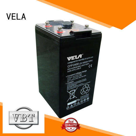 VELA durable industrial battery manufacturers excellent for alarm system