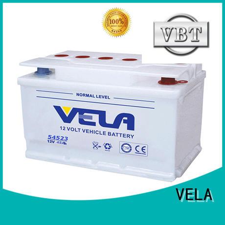 VELA car dry battery ideal for car