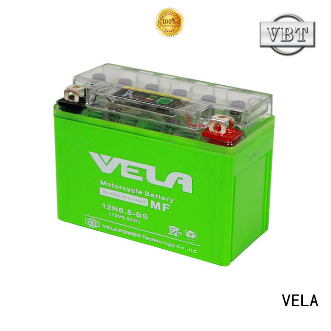 VELA motorcycle battery maintenance great for motorcycle industry