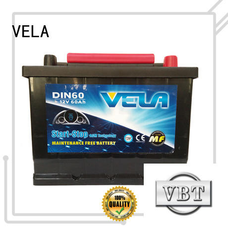 VELA agm car battery widely used for automobile