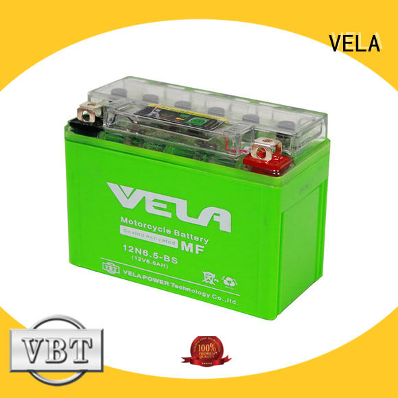 VELA high performance motorcycle battery motorbikes