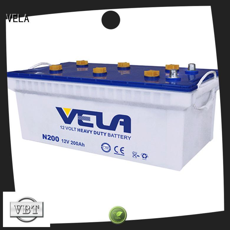 VELA commercial truck batteries excellent for car