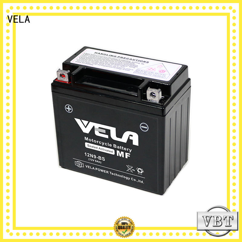 maintenance free wet battery excellent for motorcycle industry