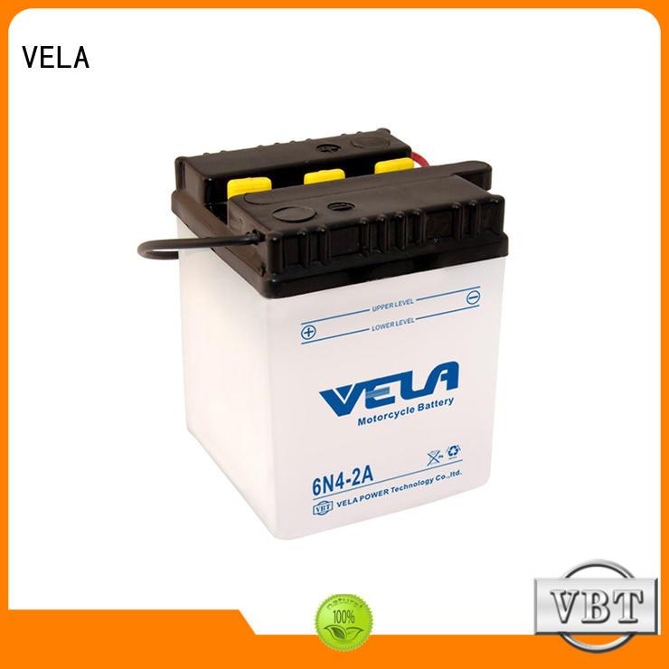 VELA best motorcycle battery type needed for motorbikes