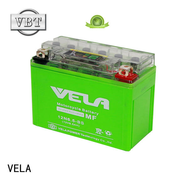 VELA durable gel battery perfect for autocycle