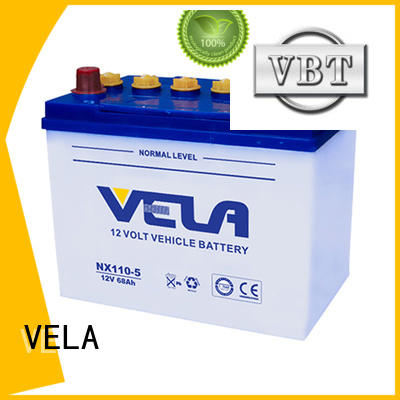 VELA automotive battery manufacturers ideal for vehicle