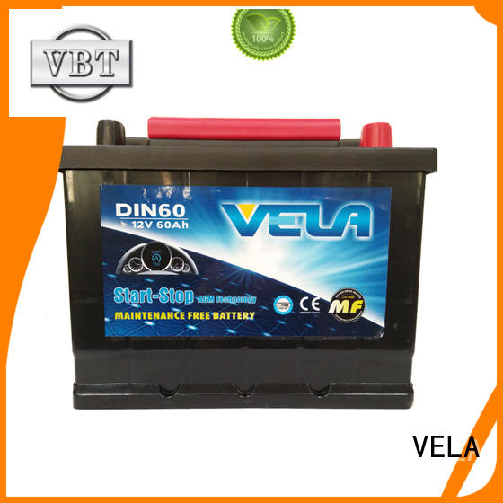 VELA start stop car battery indispensable for automobile
