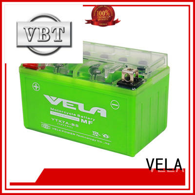 VELA longer cycle life maintenance free motorcycle battery cost great for motorbikes
