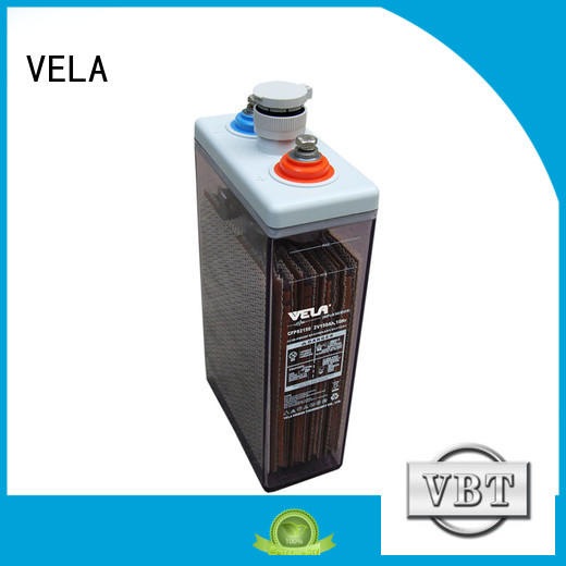 VELA maintenance free battery marine equipment