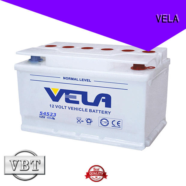 VELA automotive battery manufacturers vehicle industry
