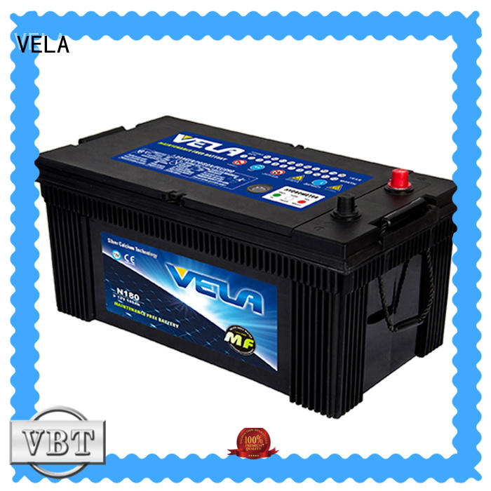 VELA truck batteries heavy duty suitable for auto