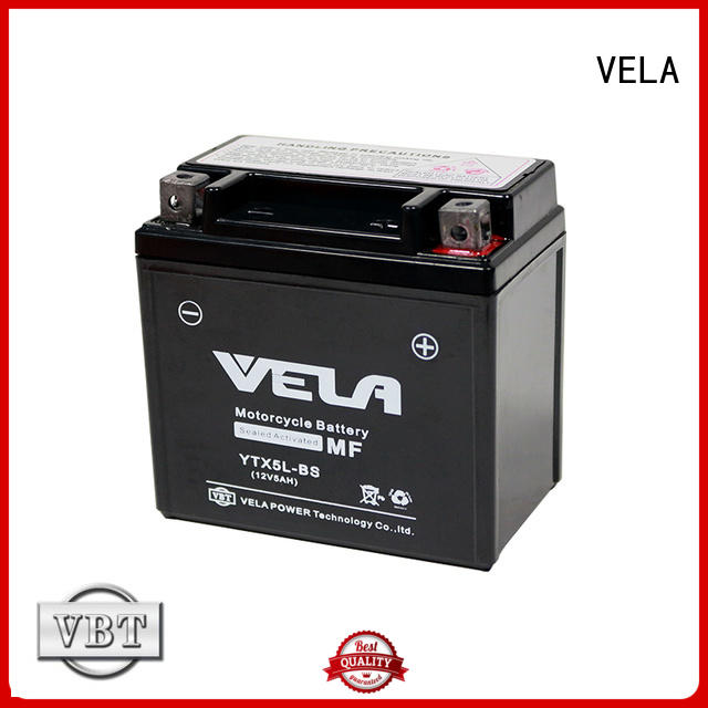 VELA high performance wet battery motorbikes