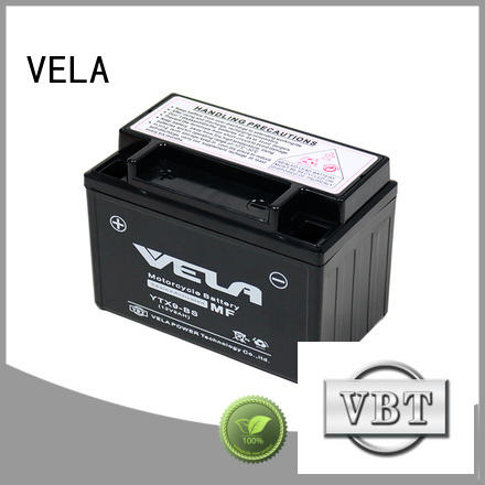 VELA use conveniently wet battery excellent for motorcycle industry