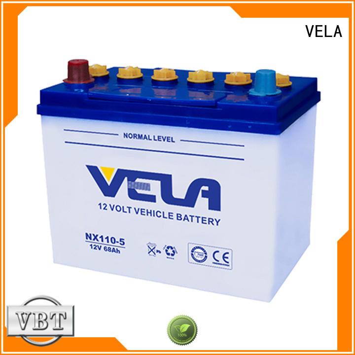 VELA long storage time buy car battery vehicle industry