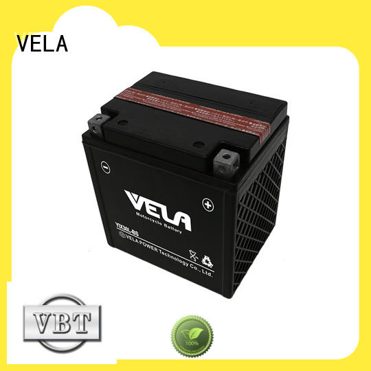 VELA motorcycle maintenance free battery perfect for motorcyles