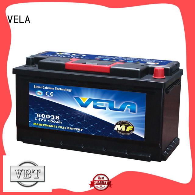 VELA average car battery price excellent for car industry