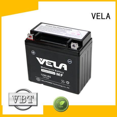 VELA high performance mf battery motorcycle industry