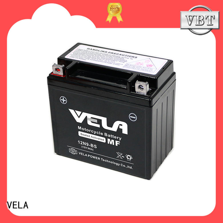 VELA wet charged battery excellent for autocycle