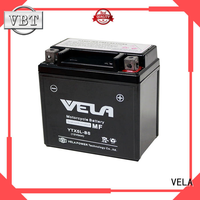 VELA high performance wet cell battery autocycle