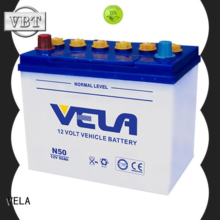 car dry battery vehicle VELA