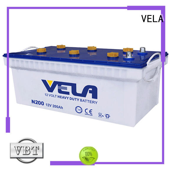 VELA commercial battery best choice for truck
