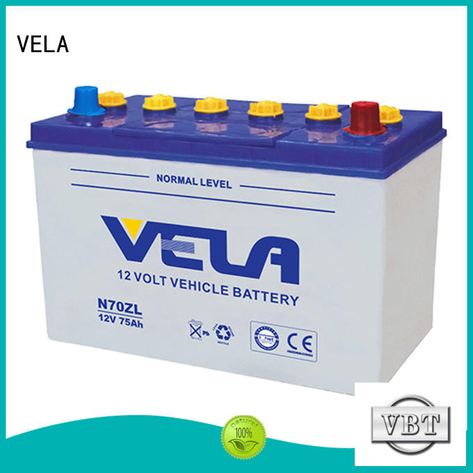 VELA long storage time automotive battery manufacturers great for automobile