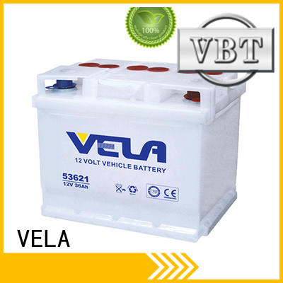 VELA car dry battery great for vehicle industry