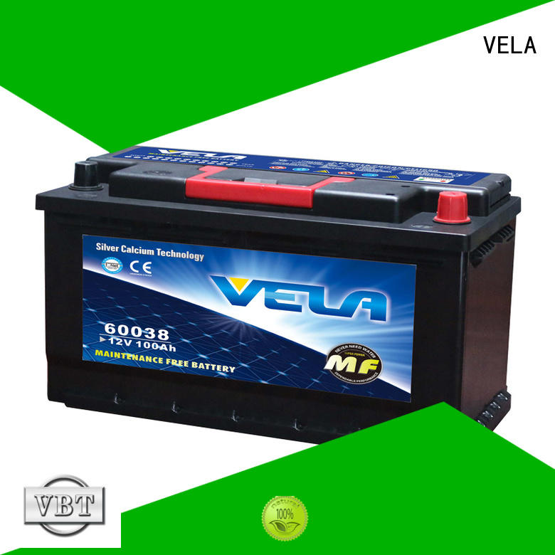 VELA durable 12v car battery vehicle