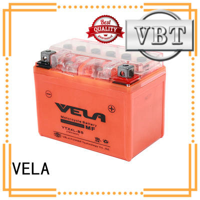 VELA environment friendly motorcycle batteries for sale great for motorcycle industry