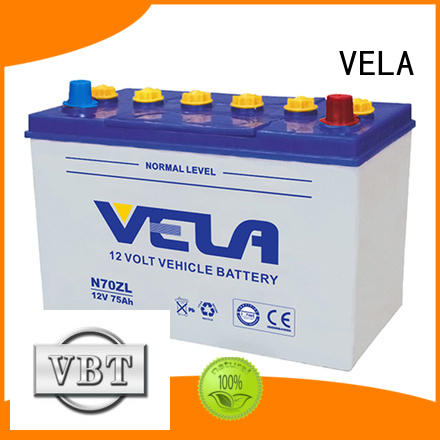 VELA good quality best auto battery great for vehicle