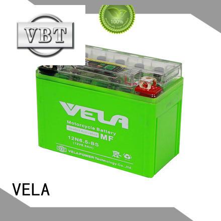 VELA environment friendly gel motorcycle battery motorcycle industry