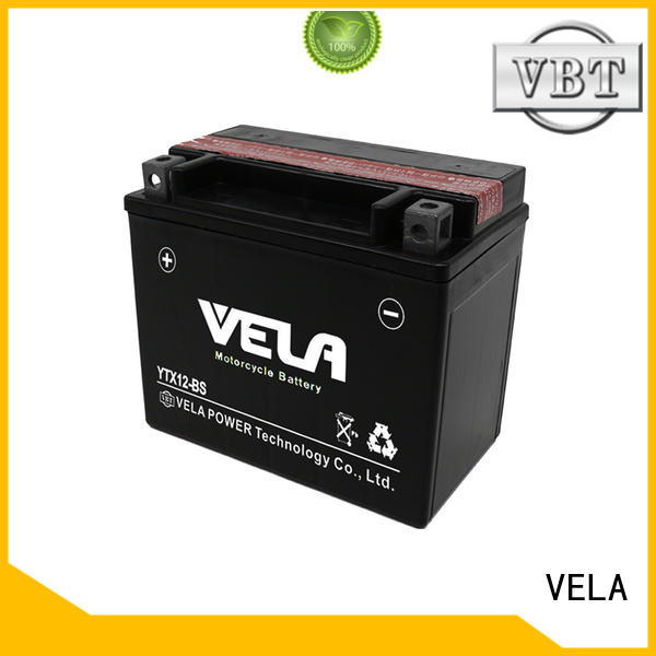 VELA convenient dry battery perfect for motorbikes