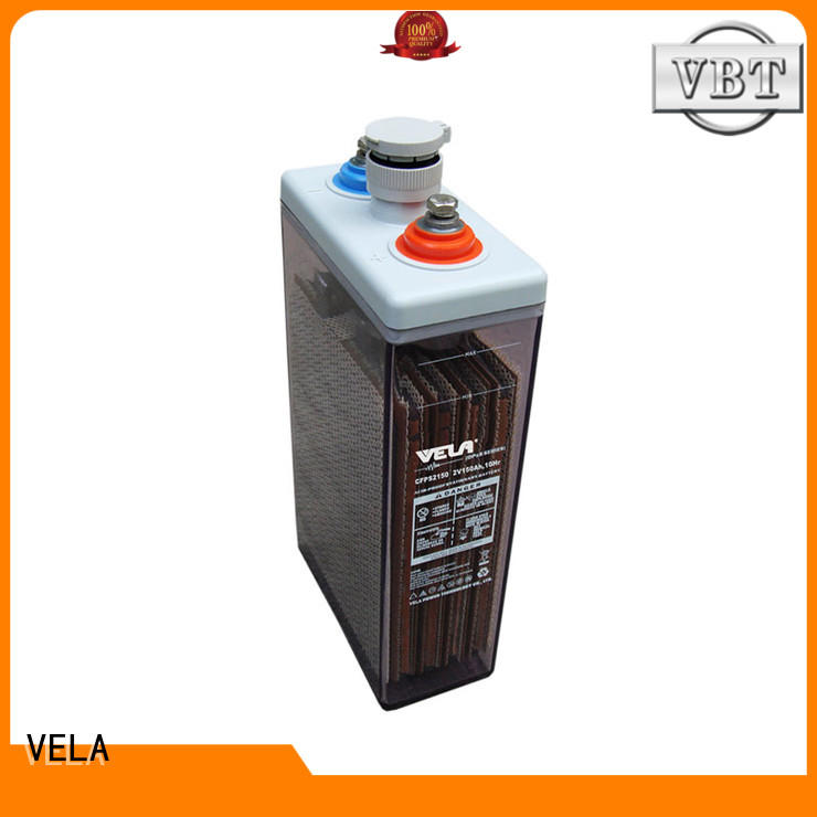 VELA durable maintenance free battery widely used for solar system