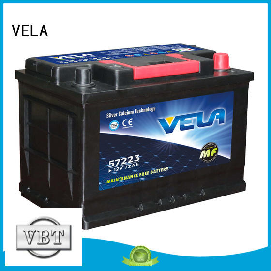 VELA auto battery ratings needed for car