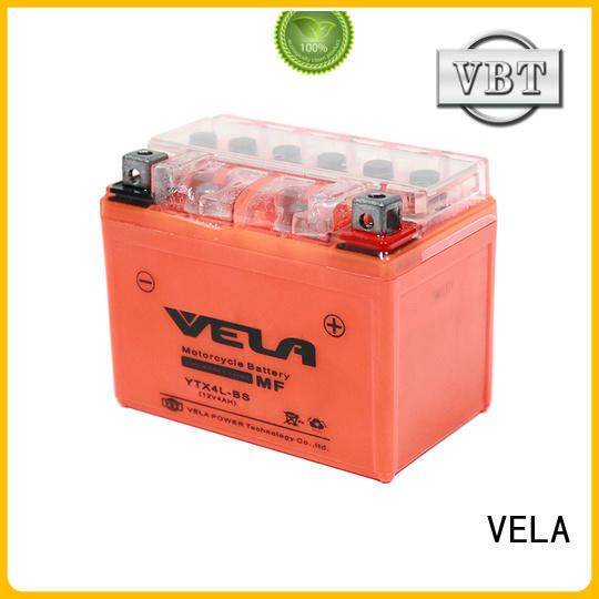 VELA top rated motorcycle battery motorcycle industry
