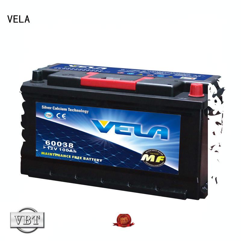 VELA best car battery brand car industry
