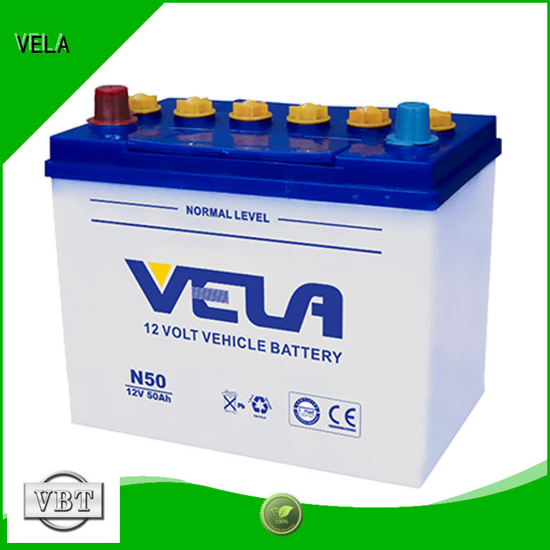 VELA car battery suppliers optimal for car
