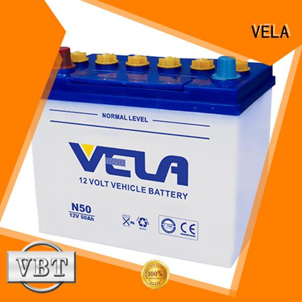 VELA best car battery brand ideal for vehicle industry
